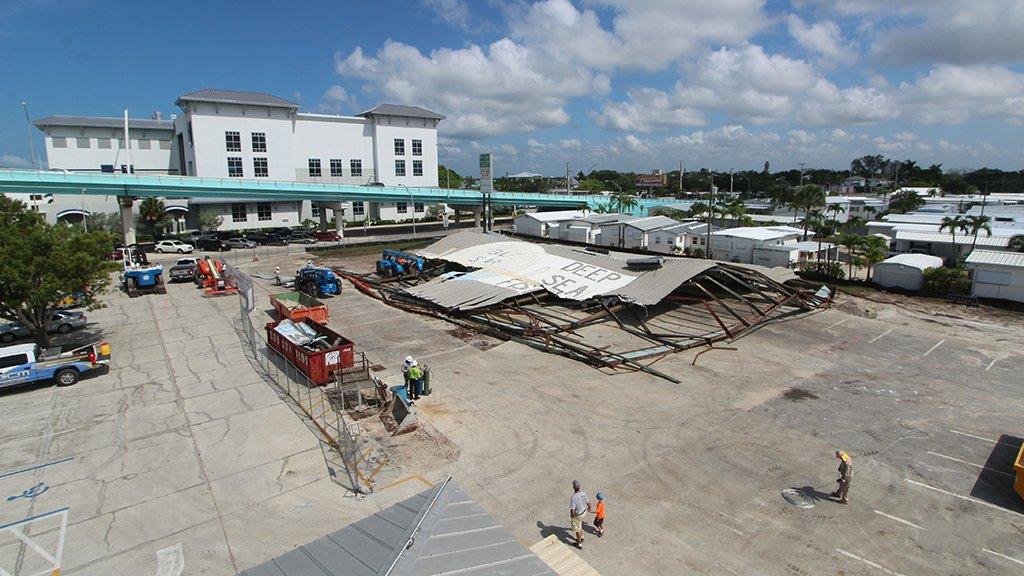 gulf star marina demolition
