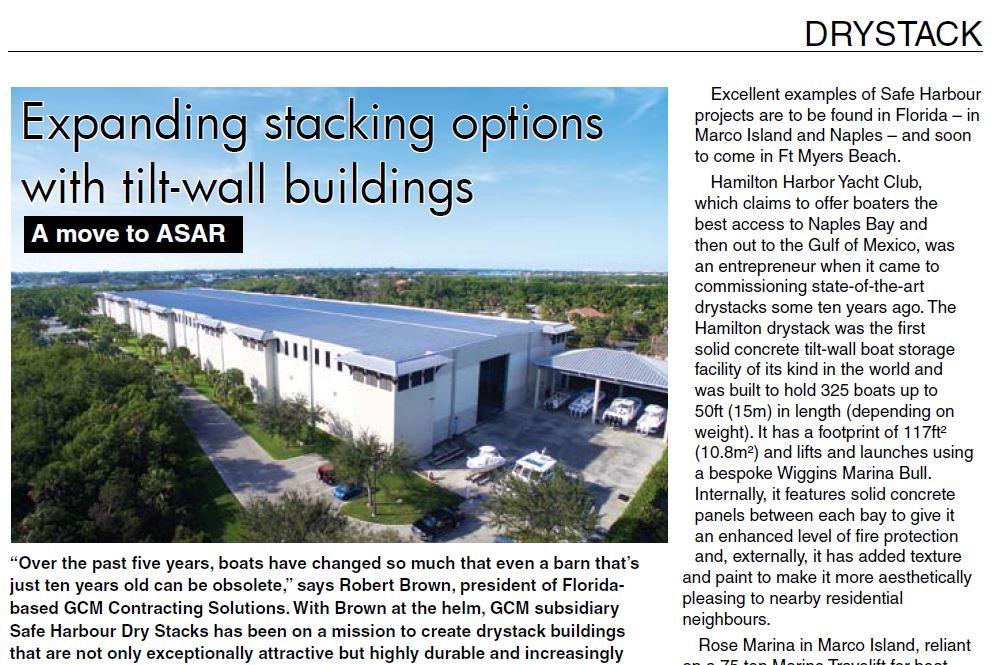 Marina World Dry Stack Article