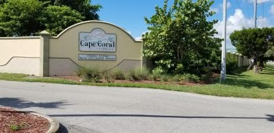 Cape Coral Water Treatment Facility Walls