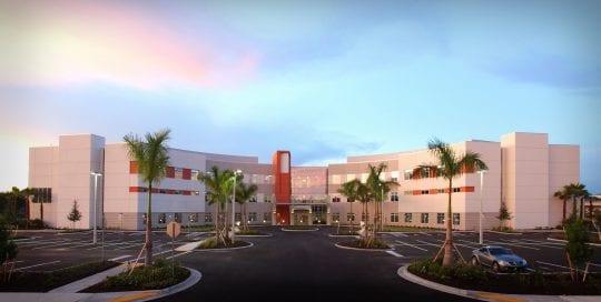 Landmark Hospital Exterior
