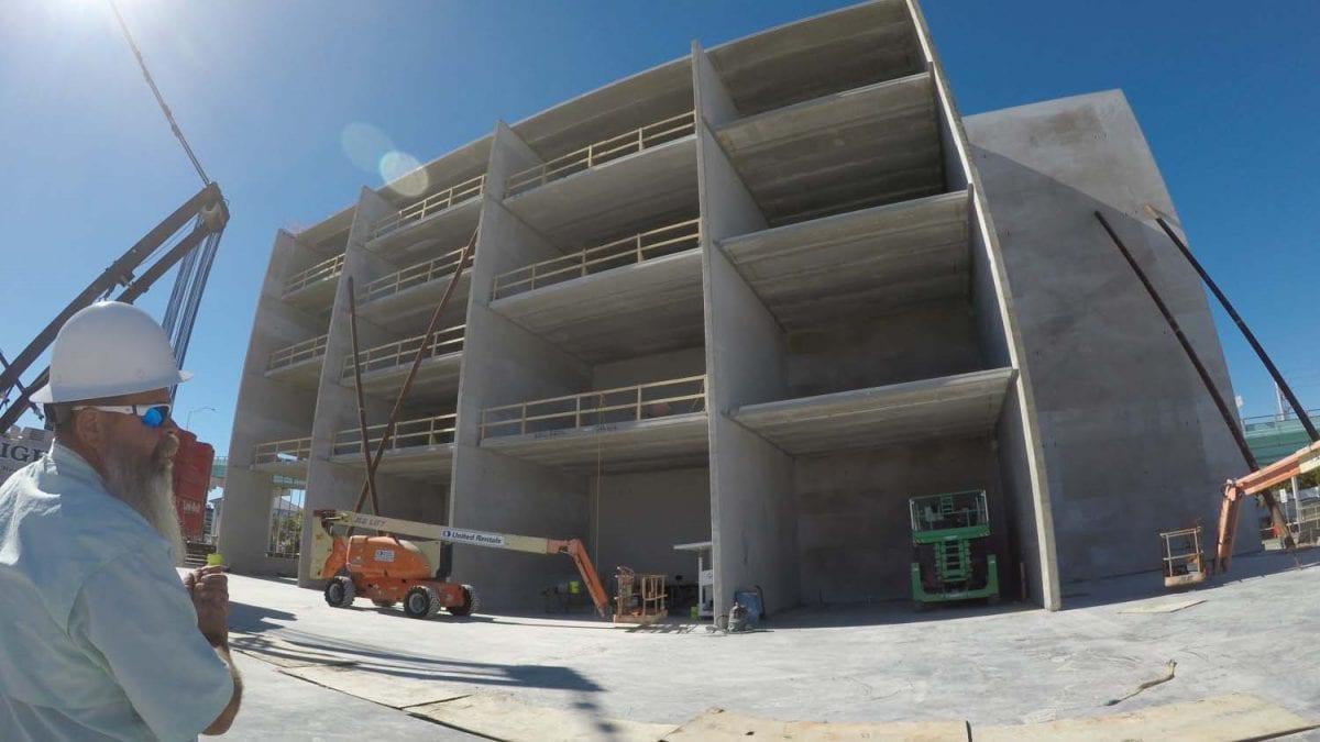 Tilt-up, GCM Contracting, Marina Construction