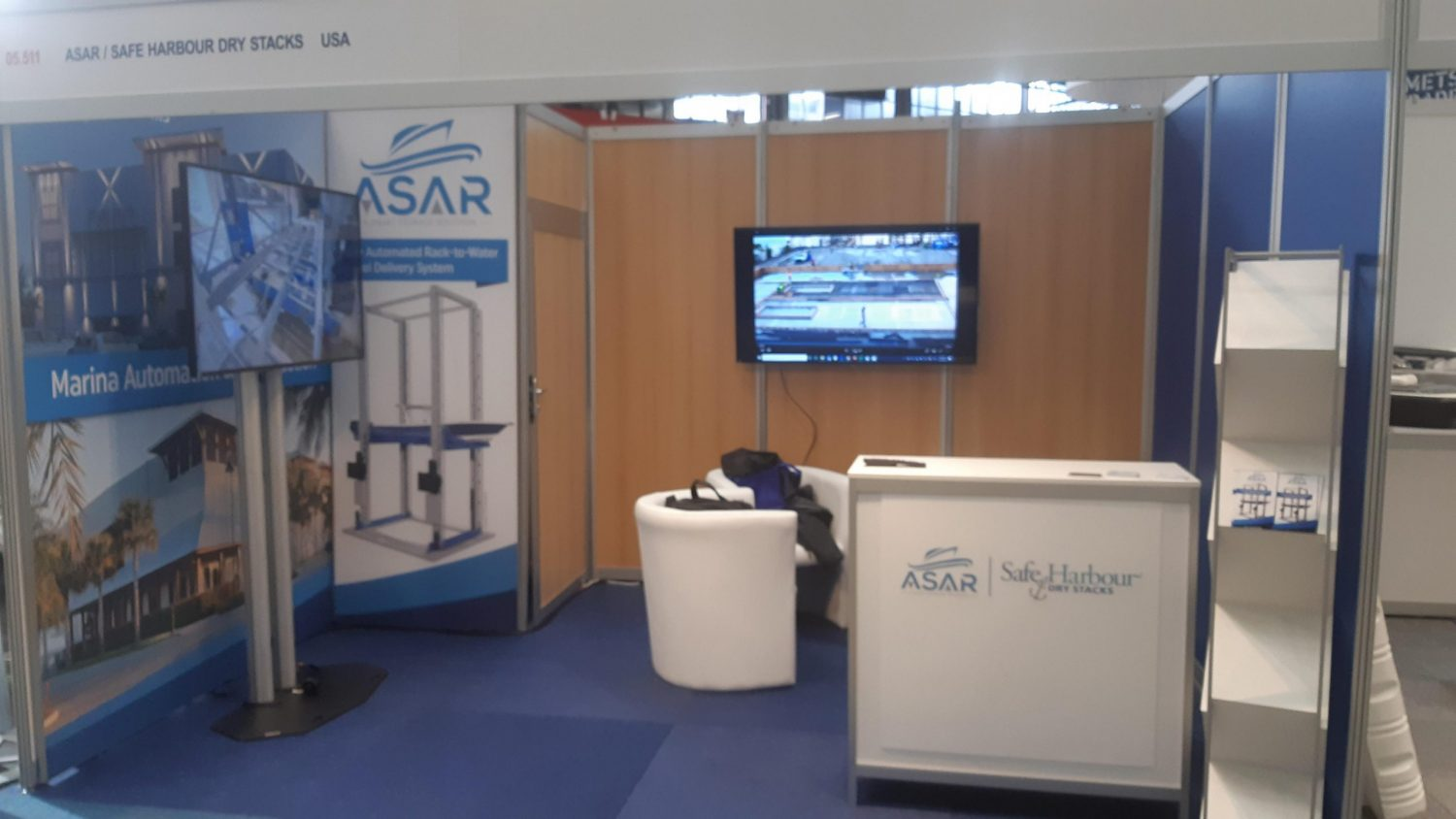 GCM-ASAR Booth at METS 2019