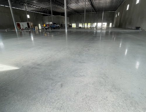 Finished Floor Polishing at Pool Corp