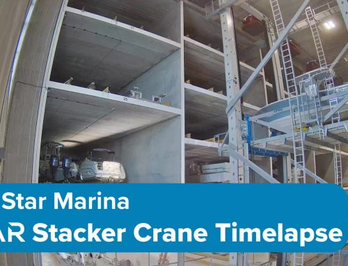 Gulf Star Marina ASAR Stacker Crane Time Lapse