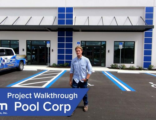 Finishing Touches Underway at Pool Corp